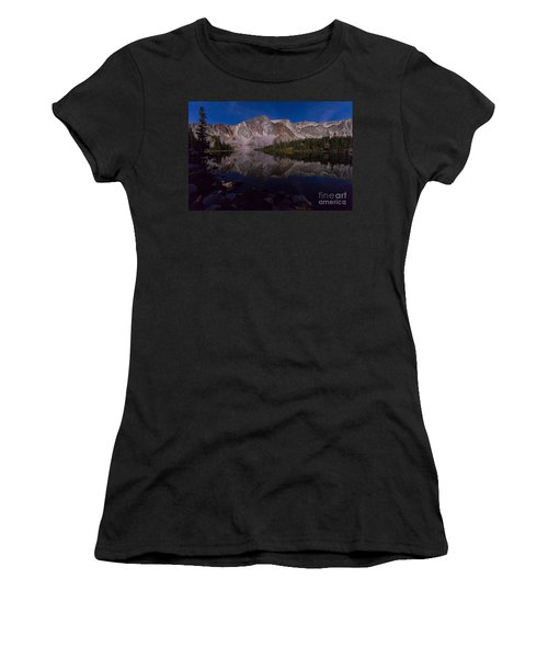 Moonlit Reflections  Women's T-Shirt (Athletic Fit)