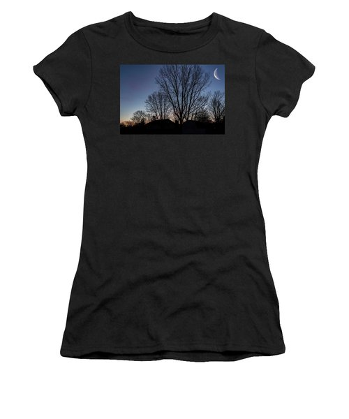 Moonlit Sunrise Women's T-Shirt