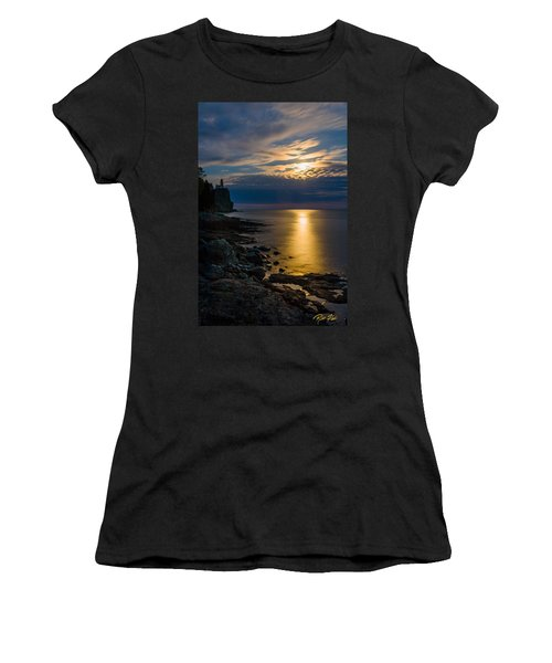 Moonrise From The Cloudbank Women's T-Shirt