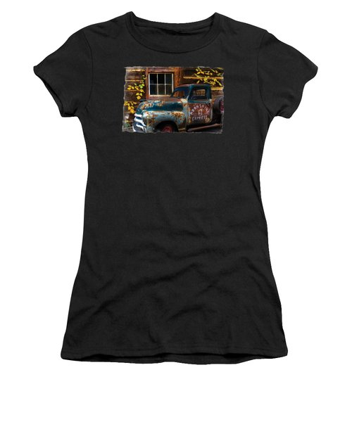 Moonshine Express Bordered Women's T-Shirt (Athletic Fit)