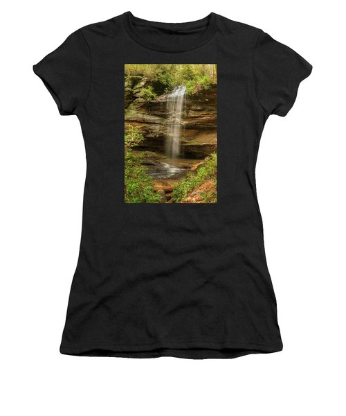 Moore Cove Falls Women's T-Shirt (Athletic Fit)