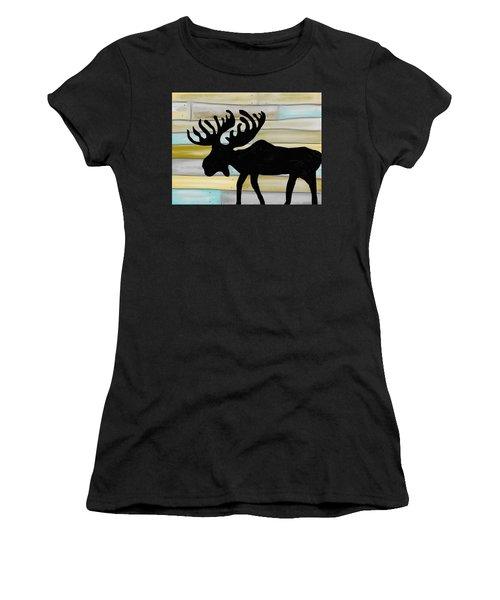 Moose Women's T-Shirt (Athletic Fit)