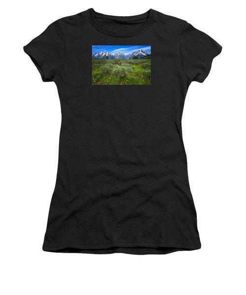 Moran Meadows Women's T-Shirt (Athletic Fit)