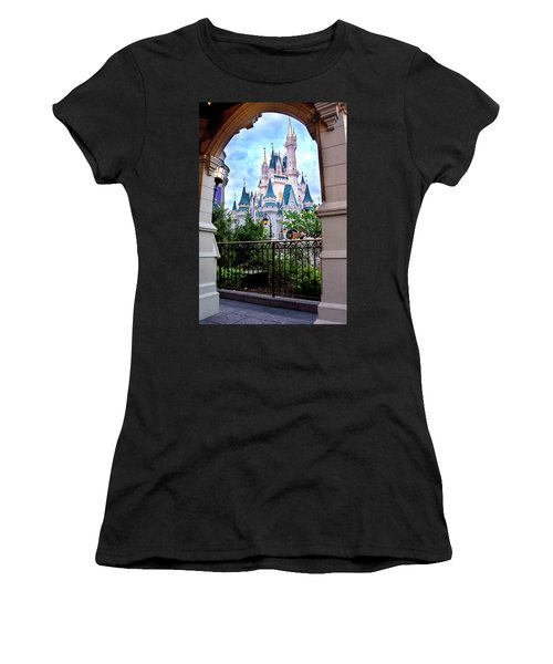 Women's T-Shirt (Junior Cut) featuring the photograph More Magic by Greg Fortier