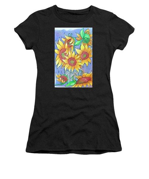 More Sunflowers Women's T-Shirt