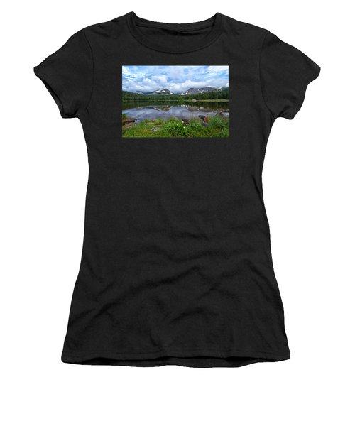 Morning Clouds Over Brainard Lake Women's T-Shirt