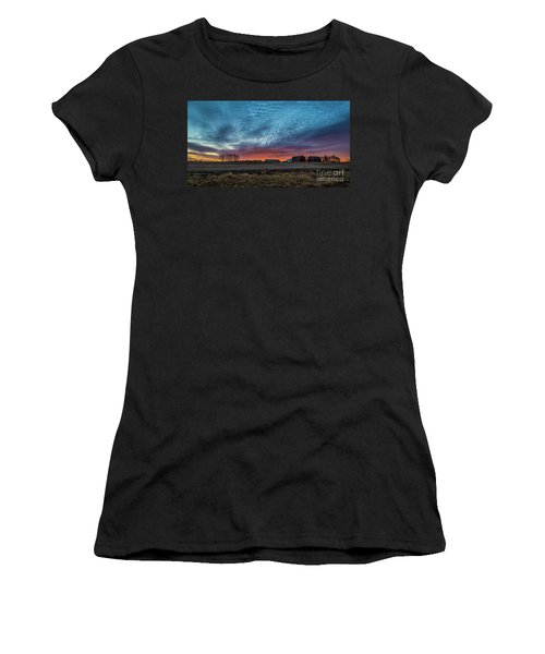 Morning Color Women's T-Shirt (Athletic Fit)