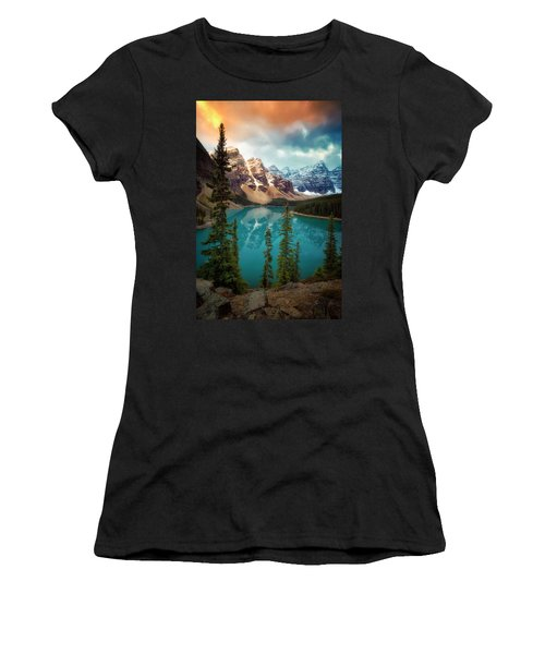 Morning Eruption  Women's T-Shirt (Athletic Fit)