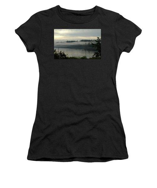 Morning Fog Women's T-Shirt (Athletic Fit)