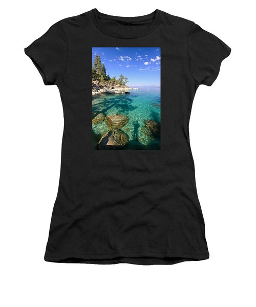 Morning Glory At The Cove Women's T-Shirt (Junior Cut) by Sean Sarsfield