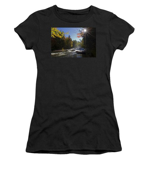 Women's T-Shirt featuring the photograph Morning Glory by Heather Kenward
