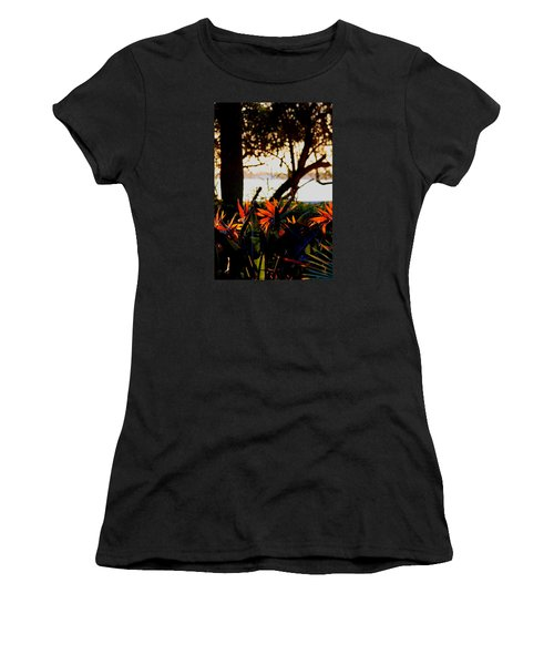 Morning In Florida Women's T-Shirt (Athletic Fit)