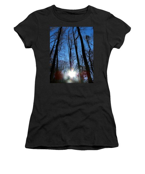 Morning In The Mountains Women's T-Shirt (Athletic Fit)