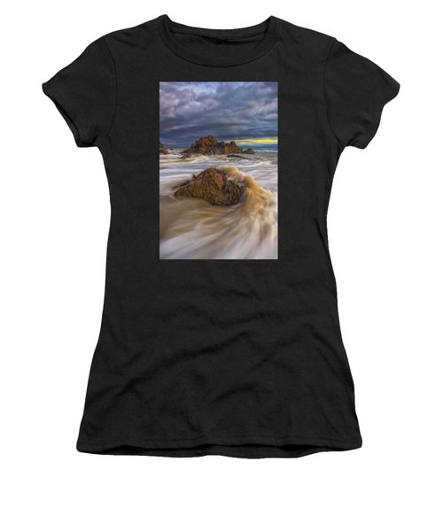 Morning Light At Marginal Way Women's T-Shirt (Athletic Fit)