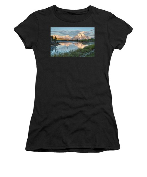 Morning Light At Oxbow Bend Women's T-Shirt (Athletic Fit)