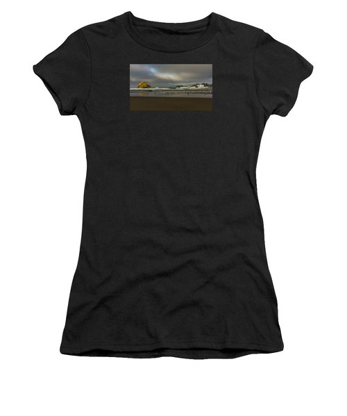 Morning Light On The Beach Women's T-Shirt (Athletic Fit)
