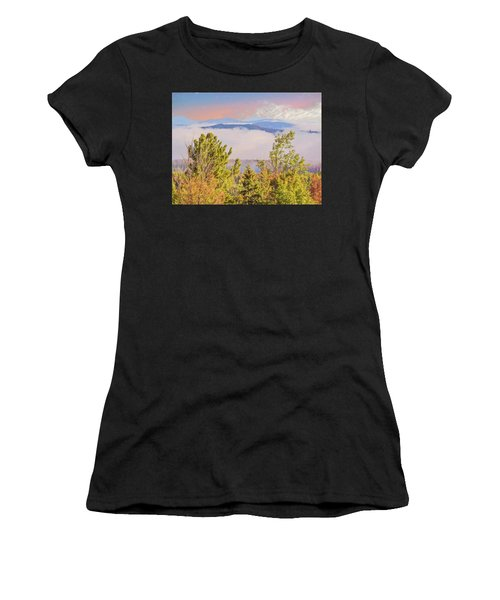 Morning Mountain View Northern New Hampshire. Women's T-Shirt