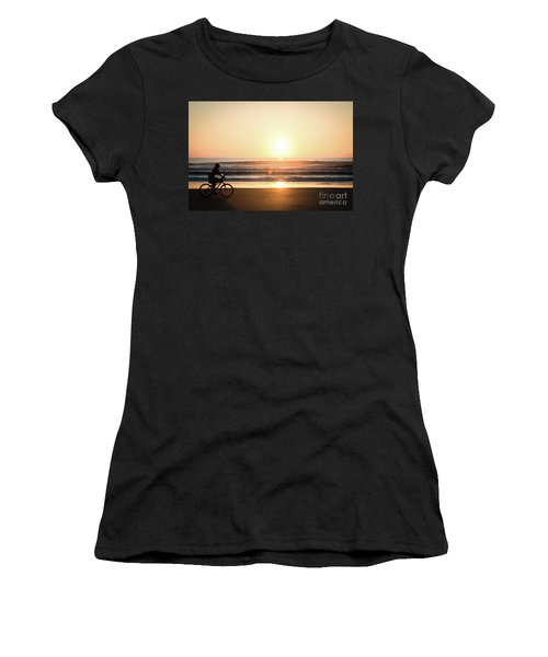 Morning Ride Women's T-Shirt (Athletic Fit)