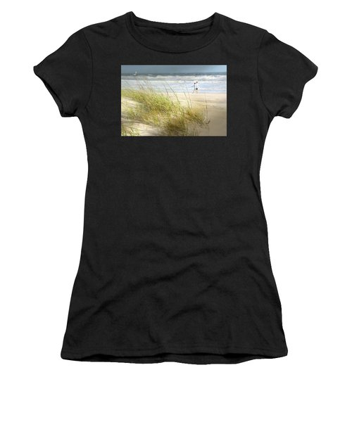 Mid Morning Stroll Women's T-Shirt (Athletic Fit)