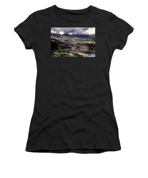Morning Valley Women's T-Shirt (Athletic Fit)