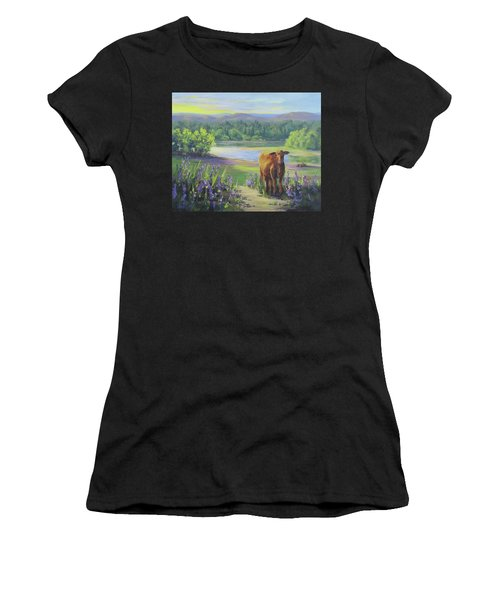 Morning Walk Women's T-Shirt (Athletic Fit)
