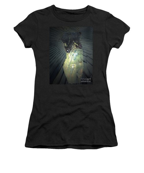 Women's T-Shirt (Junior Cut) featuring the photograph Morphing by Irma BACKELANT GALLERIES