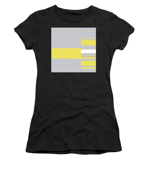Mosaic Single 1 - Minimalist Abstract Women's T-Shirt (Athletic Fit)