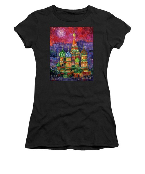Moscow Saint Basil's Cathedral Women's T-Shirt