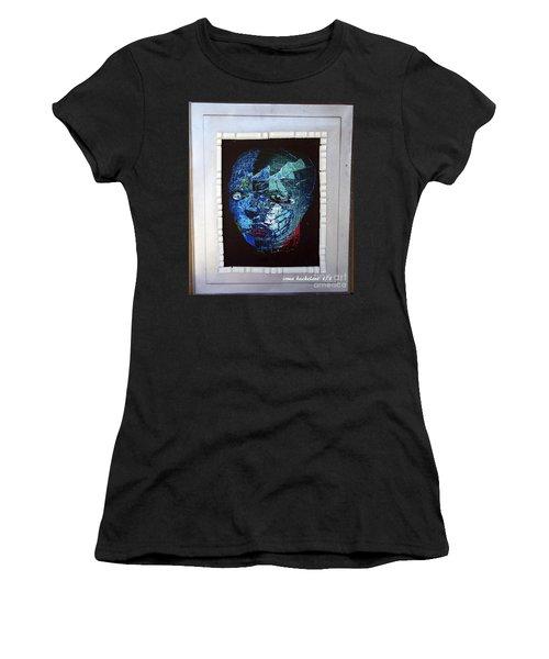Mosiac Man Women's T-Shirt (Athletic Fit)