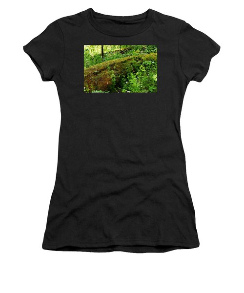Moss Covered Log 2 Women's T-Shirt (Athletic Fit)