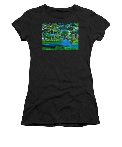 Moss Picker Impression Digital Women's T-Shirt (Athletic Fit)