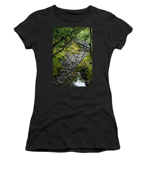 Moss Stream Women's T-Shirt (Athletic Fit)