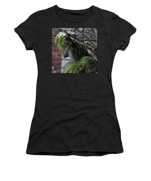 Mossy Bacchus Women's T-Shirt (Athletic Fit)