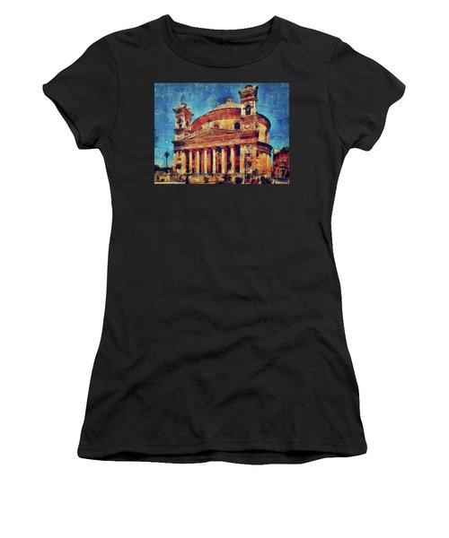 Mosta Church Women's T-Shirt