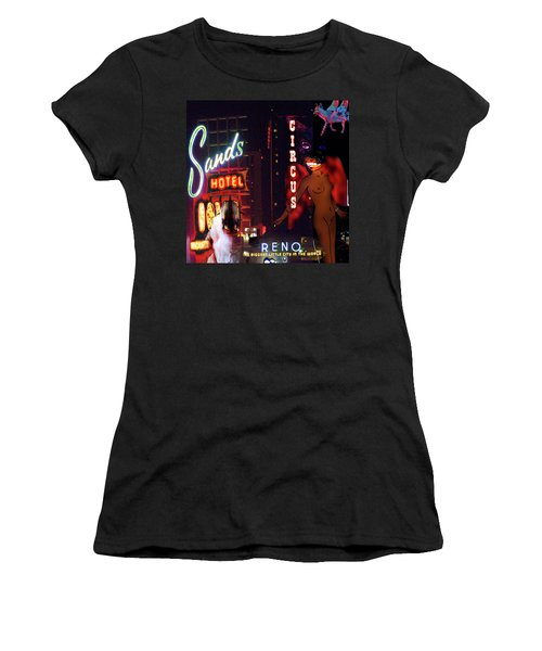 Motel Variations Angels Women's T-Shirt (Athletic Fit)