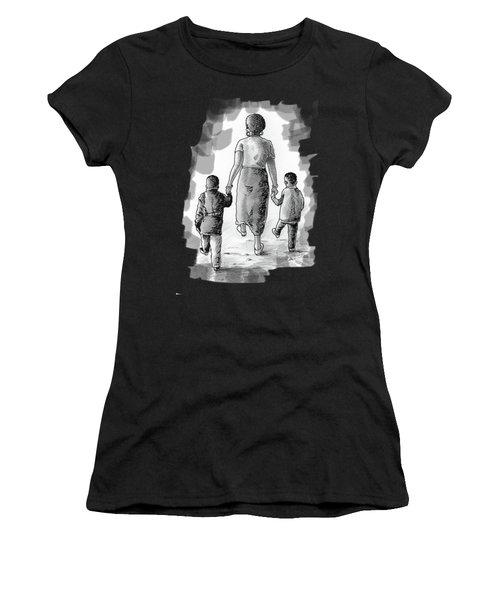 Mother And Kids Women's T-Shirt