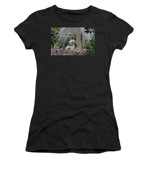 Mother Love Women's T-Shirt (Junior Cut) by Kenneth Albin