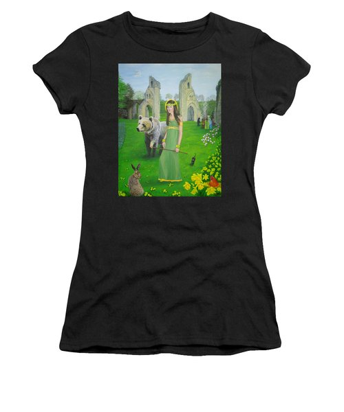 Mother Of Fire Goddess Artha - Spring Equinox Women's T-Shirt