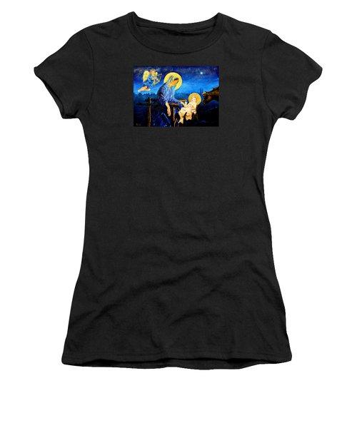 Motherhood Women's T-Shirt (Junior Cut) by Henryk Gorecki