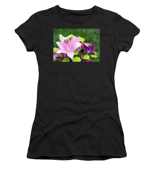 Mother's Day Bouquet  Women's T-Shirt (Athletic Fit)