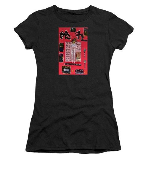 Motherwort Herbal Tincture Women's T-Shirt (Junior Cut) by Clarity Artists