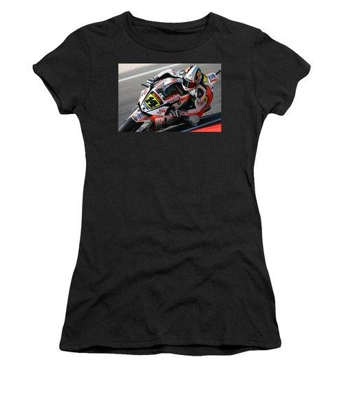 Motogp Women's T-Shirt (Athletic Fit)