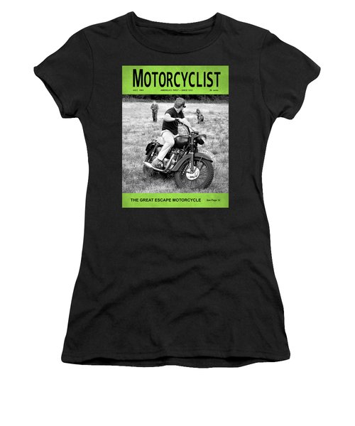 Motorcycle Magazine Great Escape Motorcycle Women's T-Shirt