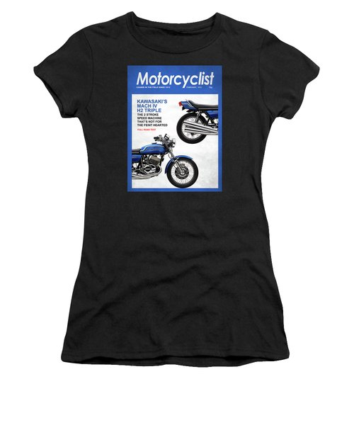 Motorcycle Magazine Kawasaki H2 1972 Women's T-Shirt