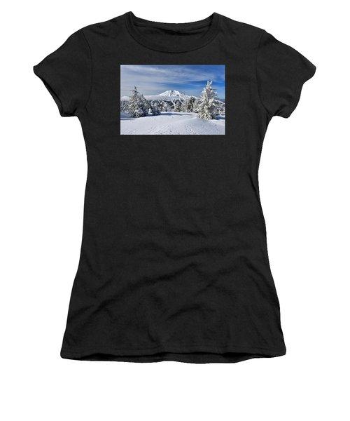 Mount Bachelor Winter Women's T-Shirt