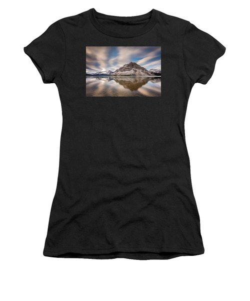 Mount Crowfoot Reflection Women's T-Shirt
