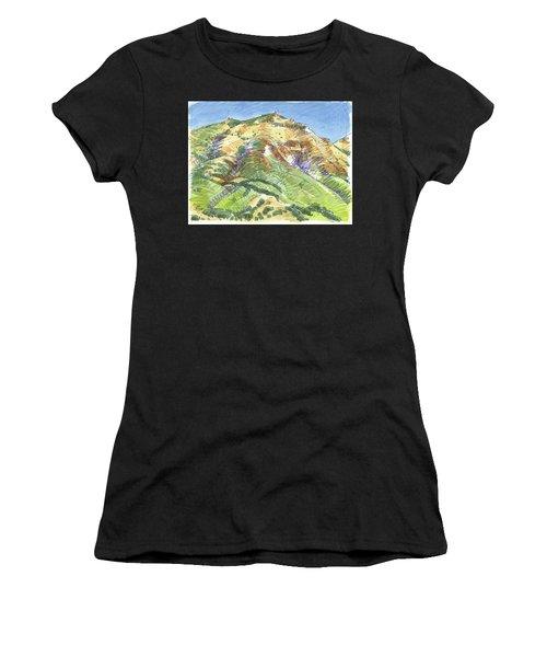 Mount Diablo From Curry Valley Ridge Women's T-Shirt