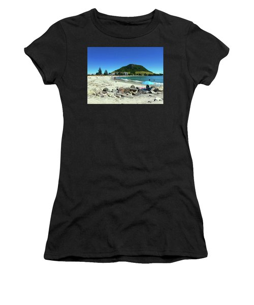 Mount Maunganui Beach 1 - Tauranga New Zealand Women's T-Shirt