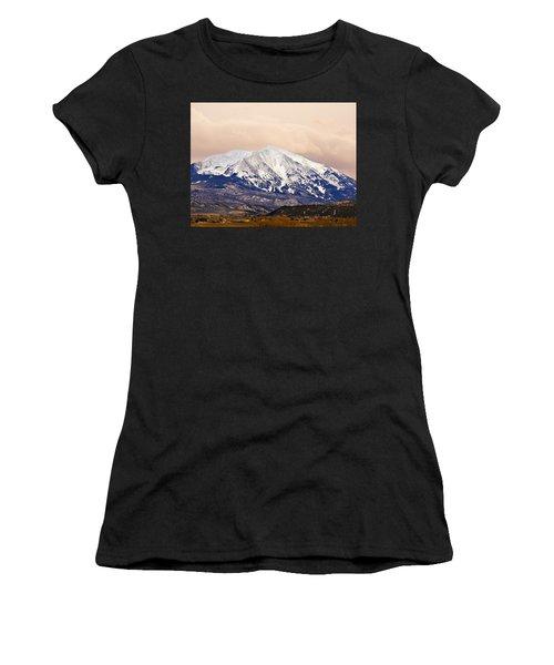 Mount Sopris Women's T-Shirt (Athletic Fit)