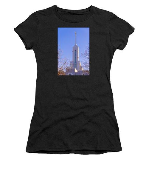 Mount Timpanogos Spire Women's T-Shirt (Athletic Fit)